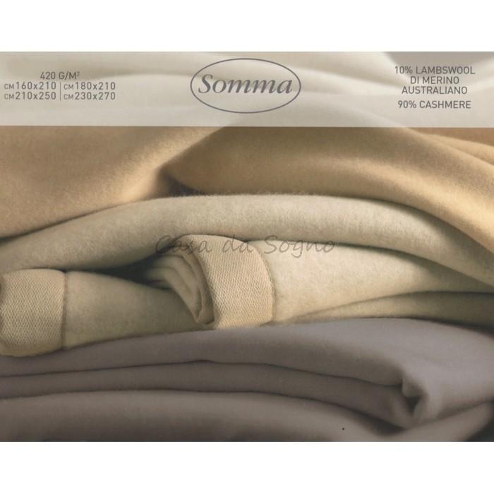premium selection ed8d1 ad74c Coperta Matrimoniale Cashmere Somma Nyima