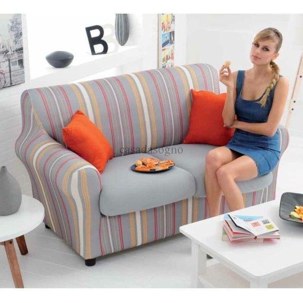 Copri divani genius idee per il design della casa - Copridivano per divani reclinabili ...