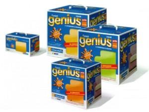 Copridivano Genius 3 posti biancaluna confezione