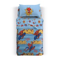 Copriletto Spiderman Caleffi Singolo trapuntato New York