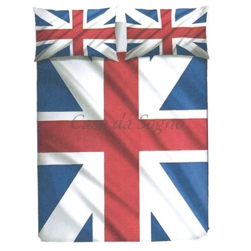 Piumone Singolo Bandiera Inglese.Copripiumino Singolo Bandiera Inglese
