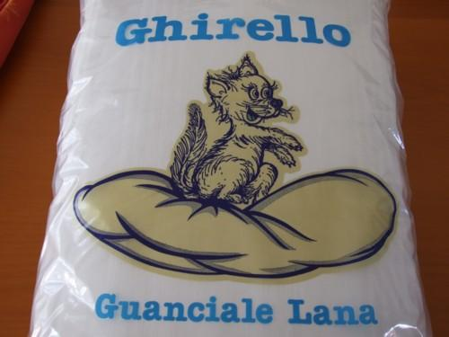 Guanciale in lana Ghirello