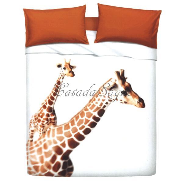 Lenzuola matrimoniali Bassetti Giraffa - CasaDaSogno