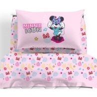 Lenzuola Minnie Caleffi singole Pop