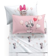 Lenzuola singole Minnie Disney Caleffi Love