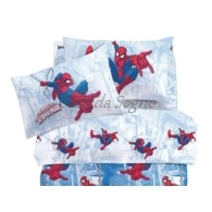 Lenzuola singole Spiderman Graphics Caleffi