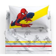 Lenzuola Spiderman Caleffi singole Colors