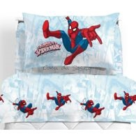 Lenzuola Spiderman Caleffi singole Graphic