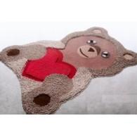 tappeto bagno teddy