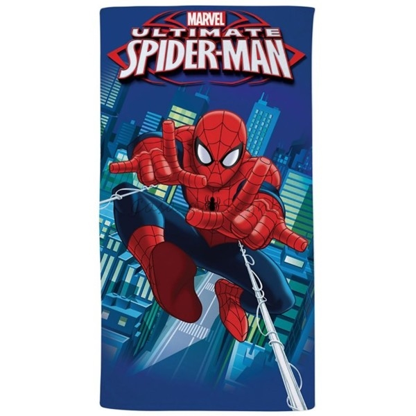 Telo Mare Spiderman City Marvel Caleffi