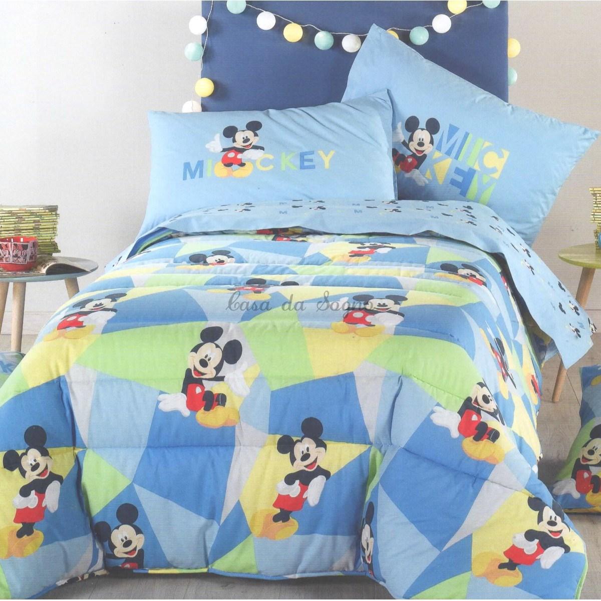 Piumone Principesse Disney Caleffi.Trapunta Topolino Disney Caleffi Singola Mickey Boys Casadasogno